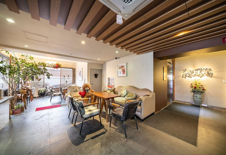Wolmido Stella Maris Hotel, Incheon, Ruang Duduk Lobi