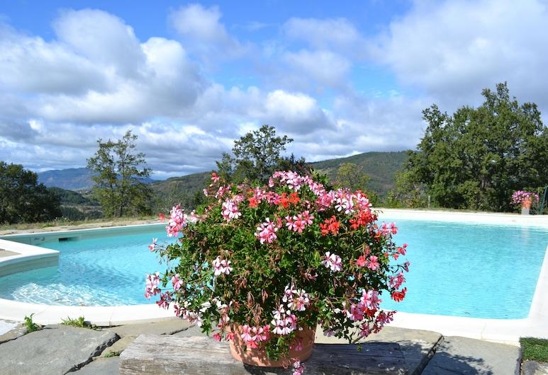 Il Cerro, Pelago, Vonkajší bazén