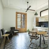 Apartman, 2 spavaće sobe, pogled na grad (Casa B) - Dnevni boravak