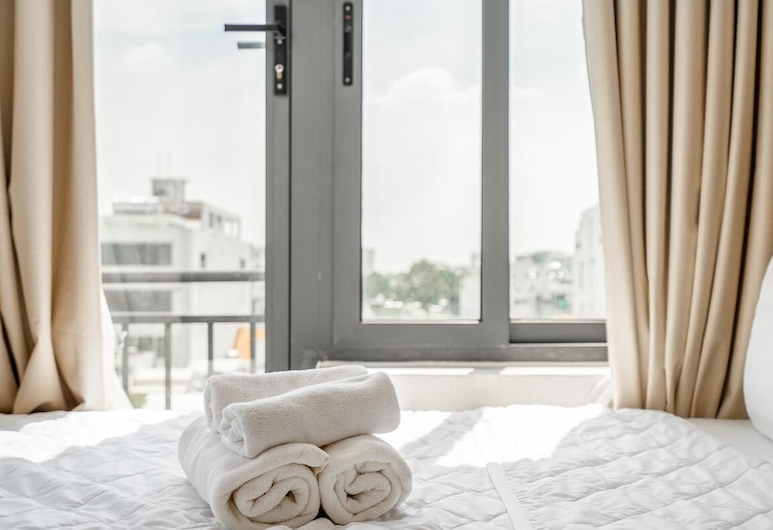 Luxy Park Hotel & Apartments City Centre, Ho Chi Minh-Stad, Grand penthouse, Kamer