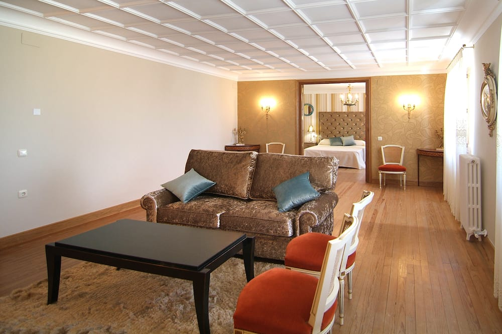 Comfort-lejlighed - 2 soveværelser (Kalavinos) - Stue