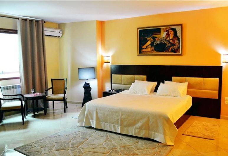 ホテル カステルム, シュレフ, ダブルまたはツインルーム, 部屋