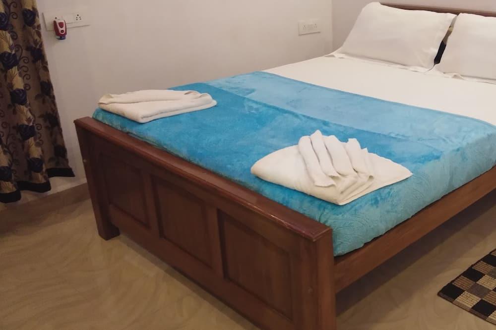 Luksus-værelse - 1 queensize-seng - terrasse - stueetage - Stue
