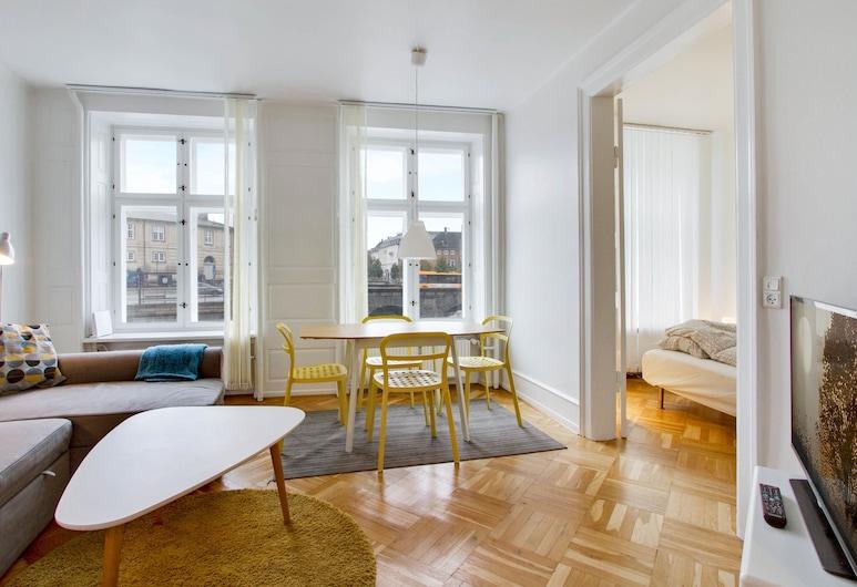 Apartment 1 bedroom Nybrogade 26, Copenhagen, Apartment, 1 Double Bed, Living Area
