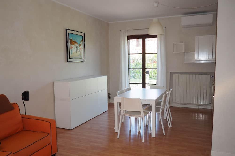 Familienapartment, 2Schlafzimmer, Terrasse - Wohnbereich