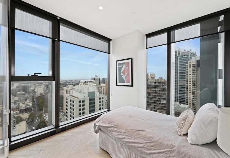 Brand New Ultra Modern CBD View, Sídney, Departamento Confort, 2 habitaciones, vista a la ciudad, Habitación