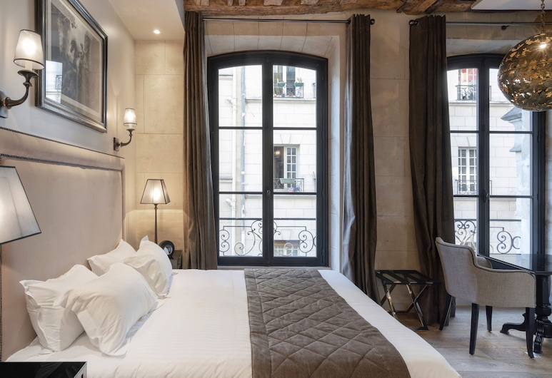 Hotel Le Presbytère, Paris, Deluxe Double or Twin Room, 1 Queen Bed, Guest Room