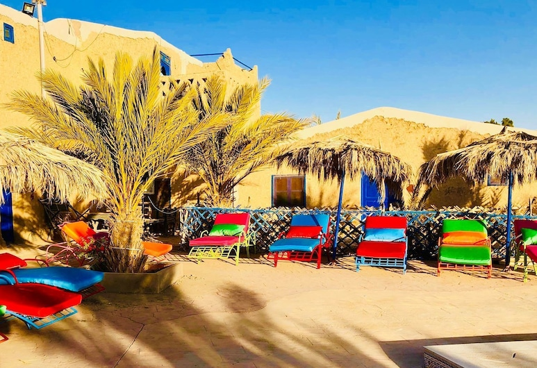 Auberge Kasbah Merzouga, Taouz, Hotelgelände