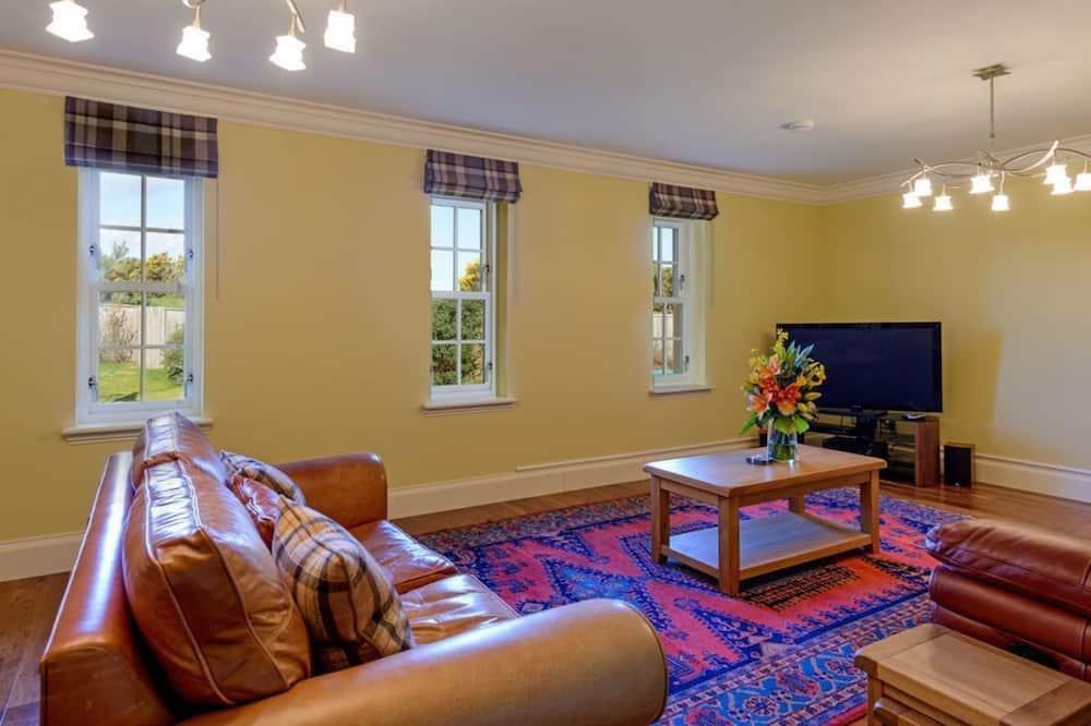 Cottage, 1 letto queen con divano letto - Area soggiorno
