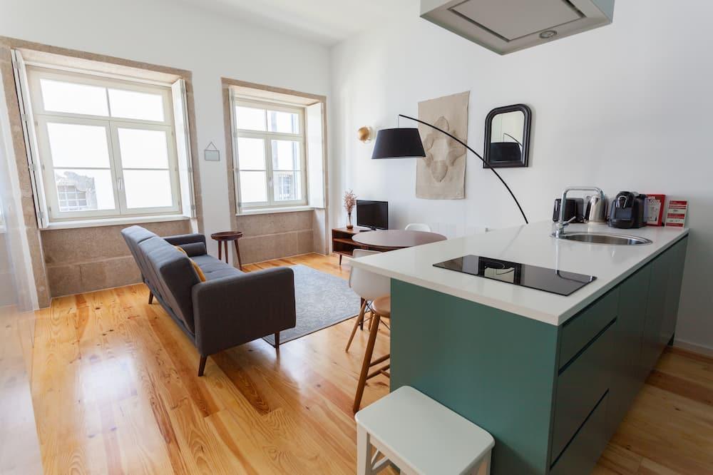 Studio, Balkon (3) - Wohnbereich