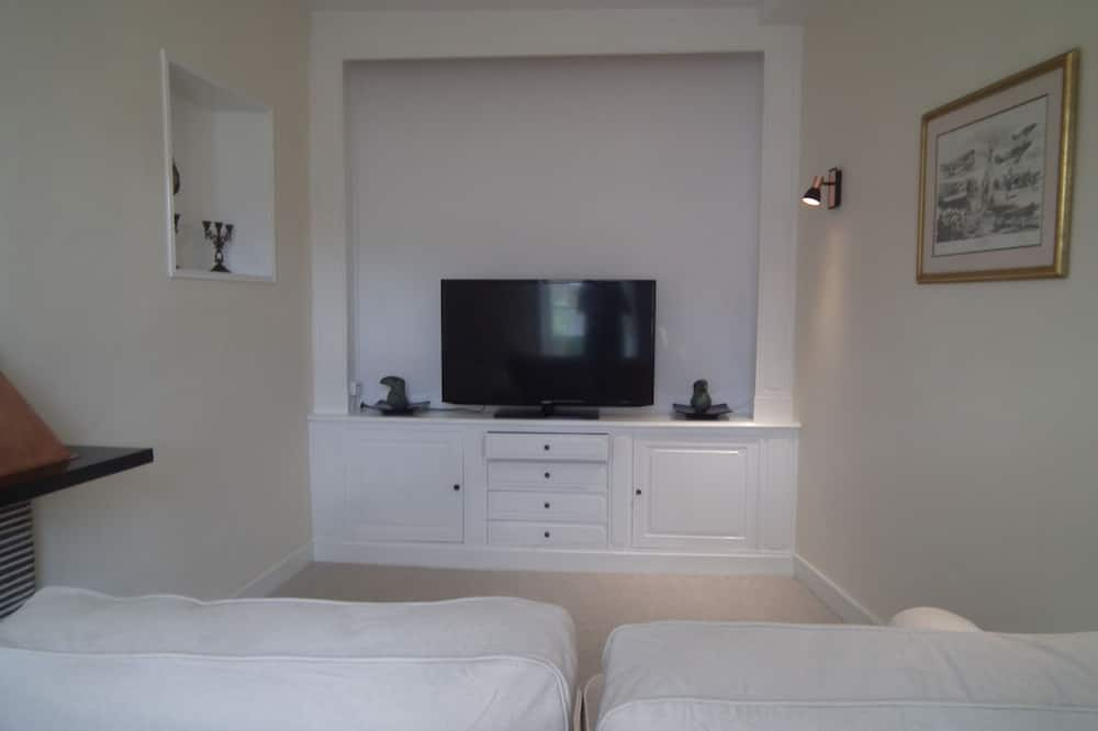 Deluxe Suite, 1 Double Bed, City View - Living Area