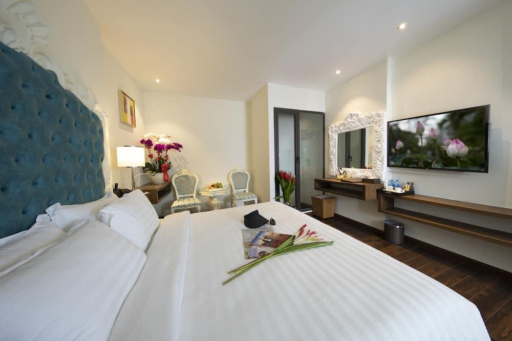 Premier Double Room (With Window) - Bilik Tamu