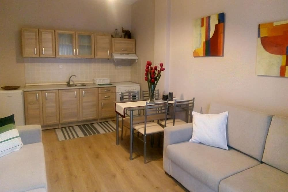 شقة مريحة - منظر للمدينة - مطبخ خاص