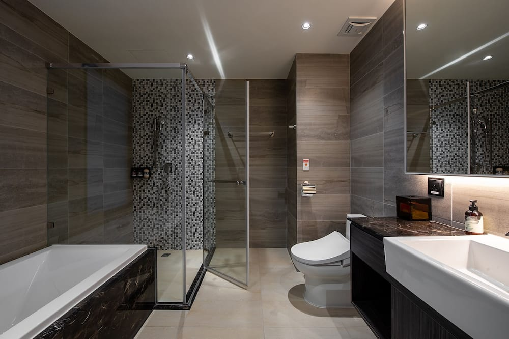 Habitación empresarial con 2 camas individuales - Baño