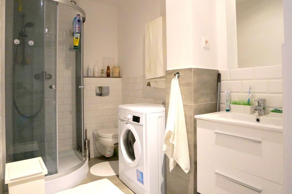 City-lejlighed - 1 dobbeltseng - Badeværelse