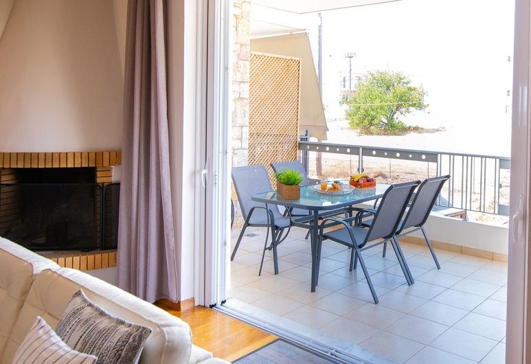 雅典機場旅館, 斯帕塔-阿迪米達, 公寓, 3 間臥室, 露台