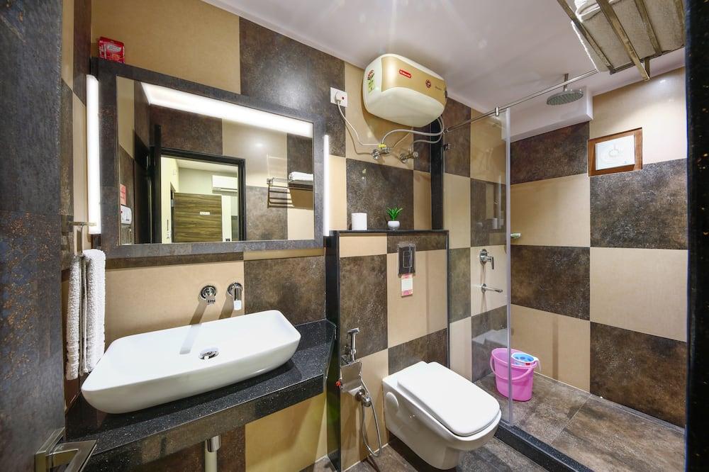 Deluxe tweepersoonskamer, 1 tweepersoonsbed - Badkamer