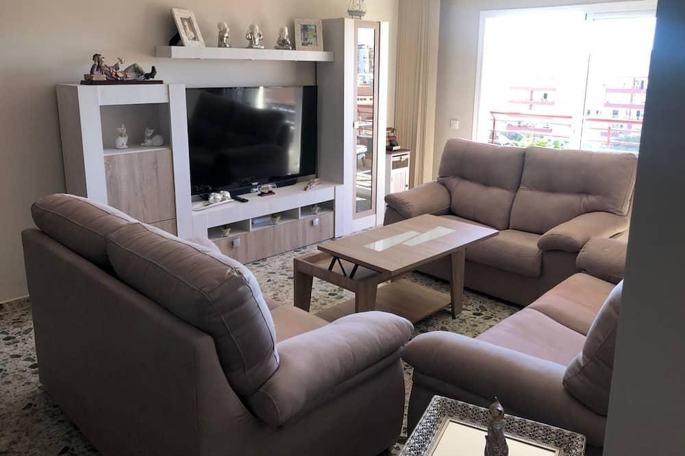 Basic-Apartment, 3Schlafzimmer - Wohnzimmer