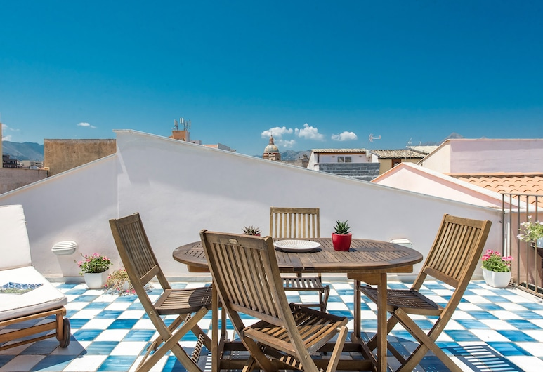 Maqueda Apartments by Wonderful Italy, Palerme, Loft, 1 chambre, terrasse, Terrasse/Patio