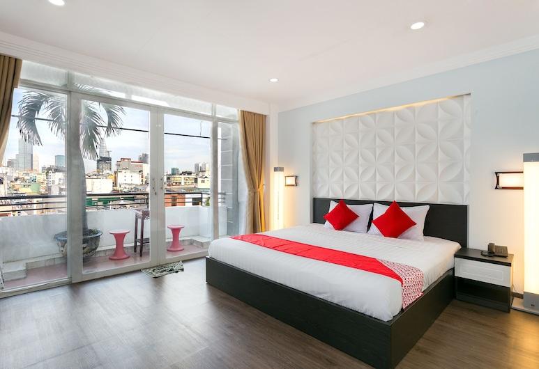 OYO 198 Tht Apartment, Ciudad Ho Chi Minh, Departamento, 2 habitaciones, Habitación