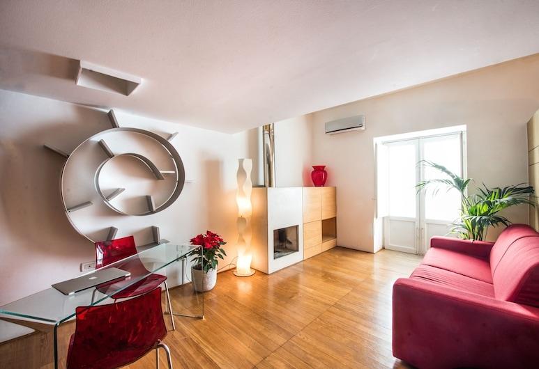 Kalsa miniLoft by Wonderful Italy, Palermo, Kaksikerroksinen huoneisto, Oleskelualue