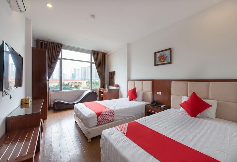 OYO 196 Sweet Hotel, Hanojus, Pagerinto tipo dvivietis kambarys (2 viengulės lovos), Svečių kambarys