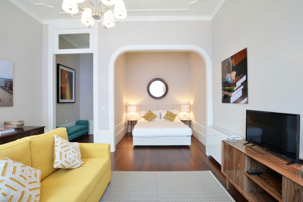 Apart Daire, 2 Yatak Odası (1) - Oturma Alanı