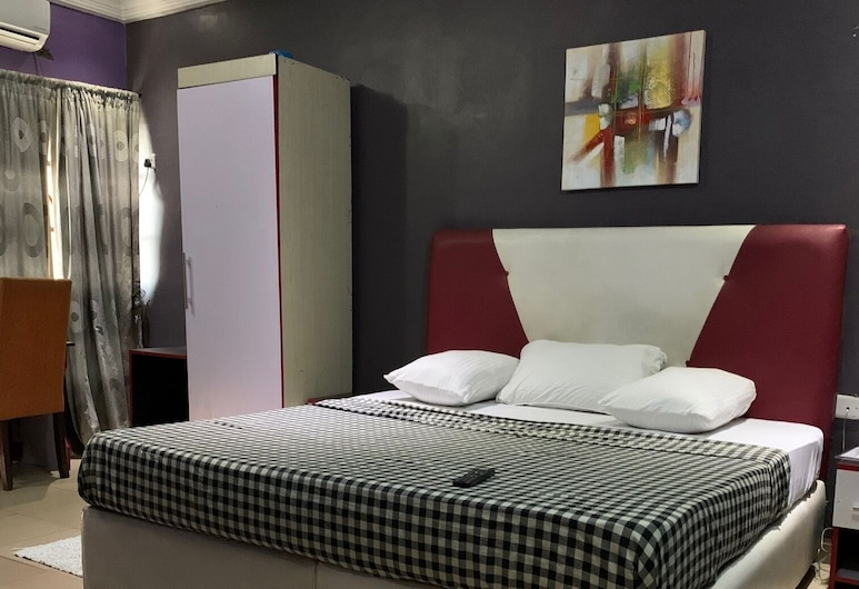 Pulville Boulevard, Lagos, Executive Double Room, 1 Queen Bed, Guest Room