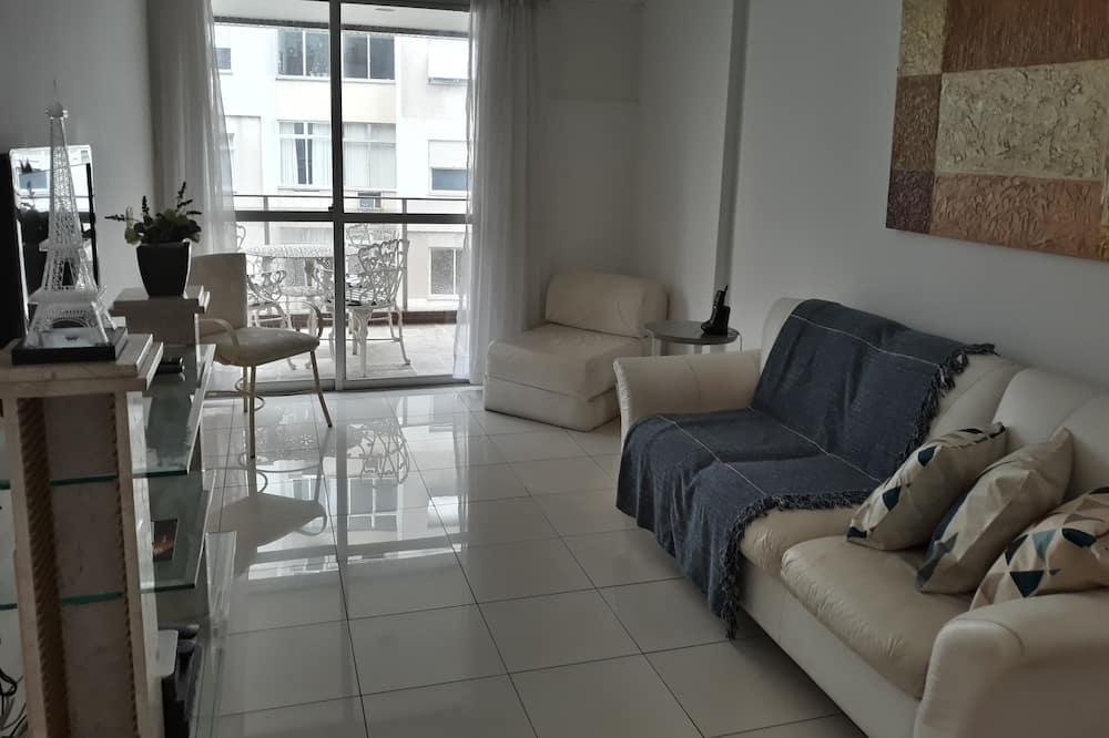 Апартаменти, 1 двоспальне ліжко та розкладний диван - Житлова площа