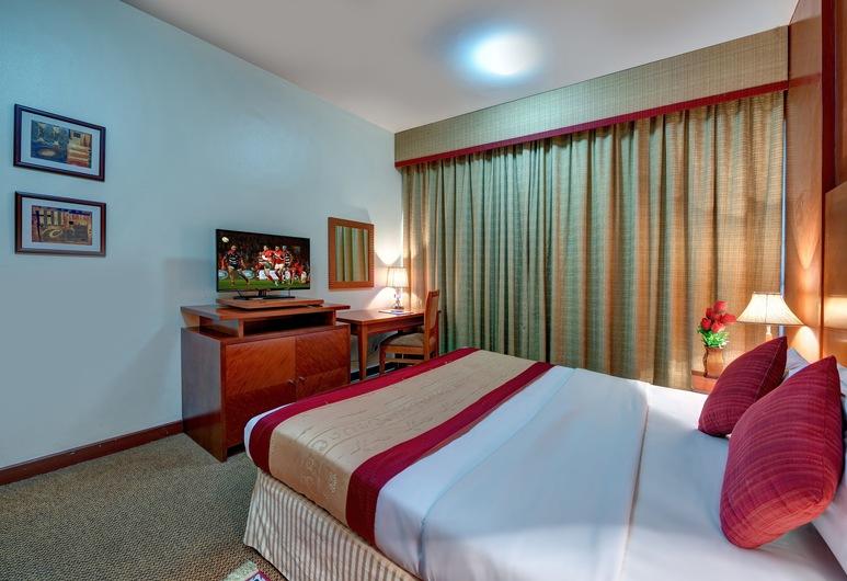 london crown 2 hotel apartment, Dubajus, Studija su pagrindiniais patogumais, 1 viengulė lova, Kambarys