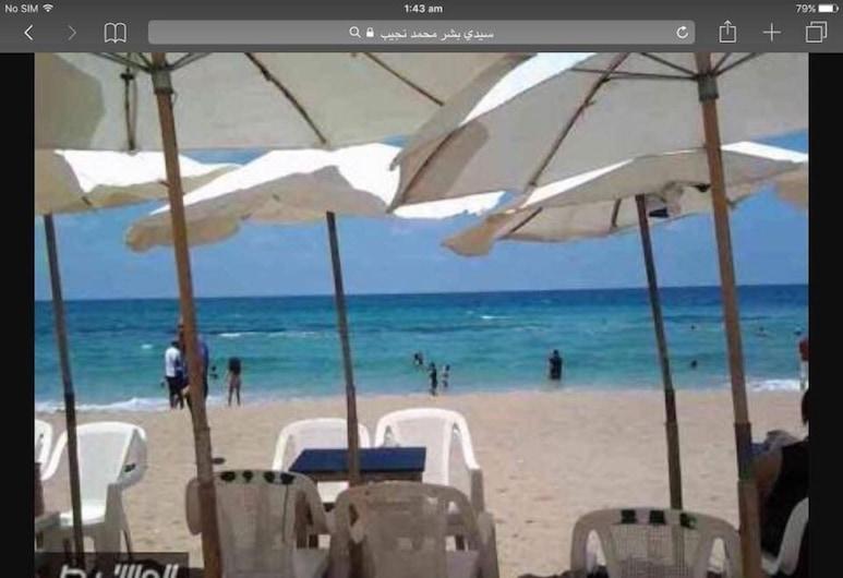 希爾頓旁驚人公寓海灘景觀飯店, Alexandria, 海灘