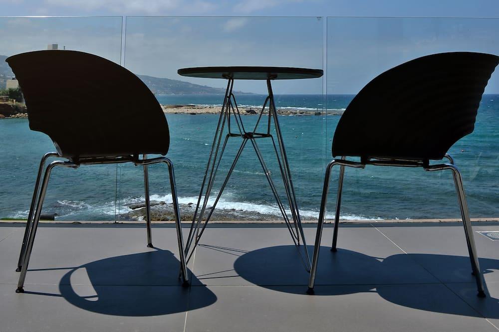 Deluxe Studio, Balcony, Sea View (Room No 5) - Balcony View
