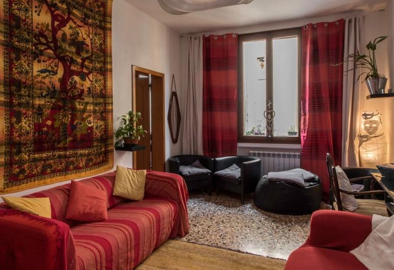The Academy - Hostel, Venedig, Sitzecke in der Lobby
