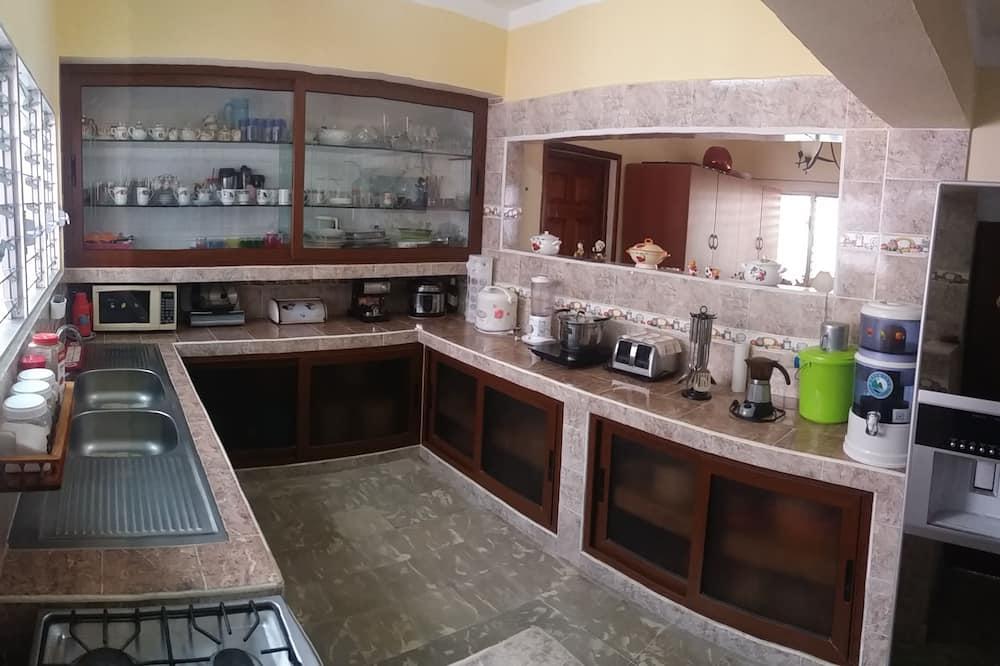 Kamar Triple Comfort, 1 kamar tidur, lantai dasar - Dapur bersama