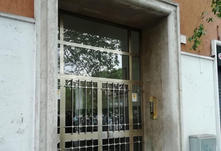 賈尼科洛鄉村客房酒店, 羅馬, 酒店入口