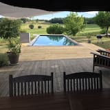 Large Pool House