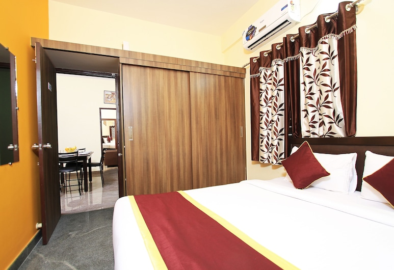 Transit Living Bangalore Airport, Bengaluru, Family Apartment, 2 Queen Beds, Guest Room