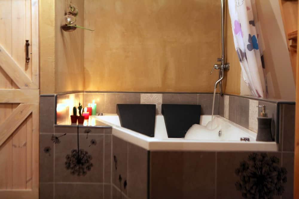 Deluxe Μικρό Σπίτι, 1 Queen Κρεβάτι - Ιδιωτική μπανιέρα υδρομασάζ