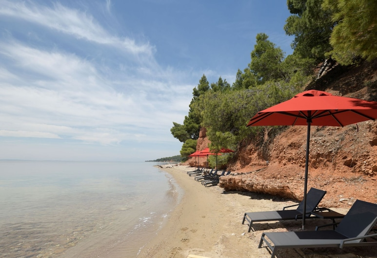 Amantes Villas and Suites, Sithonia, Praia
