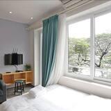 Appartement, 1 grand lit, vue lac (Floor 3) - Coin séjour
