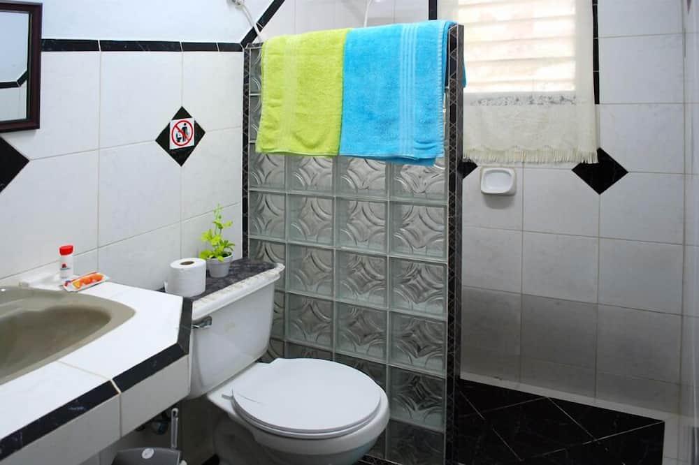 싱글룸, 더블침대 1개 - 욕실