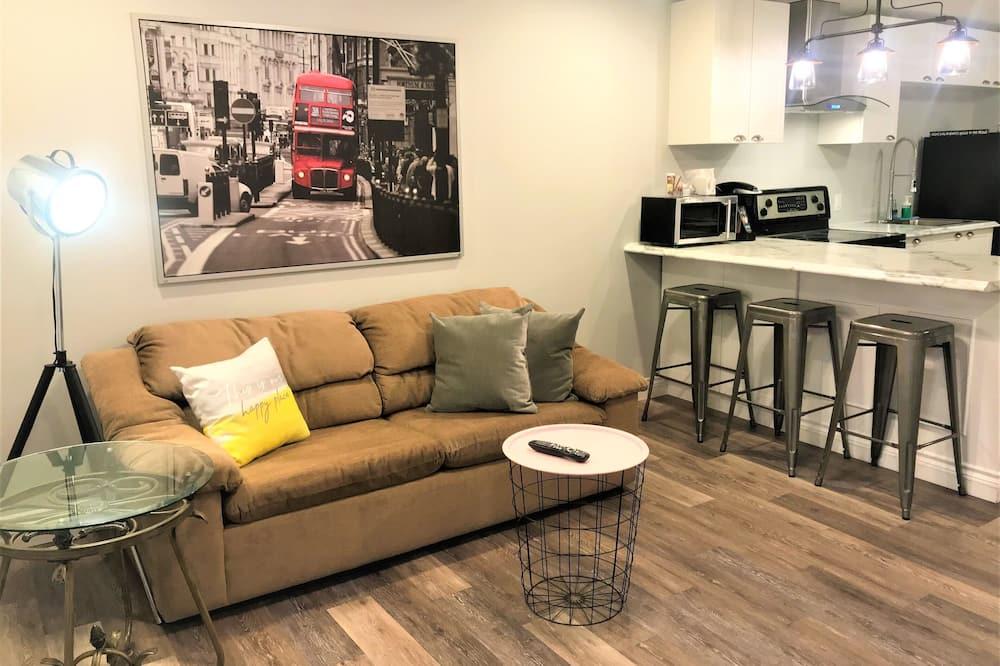 Lyxlägenhet - 1 sovrum - Vardagsrum