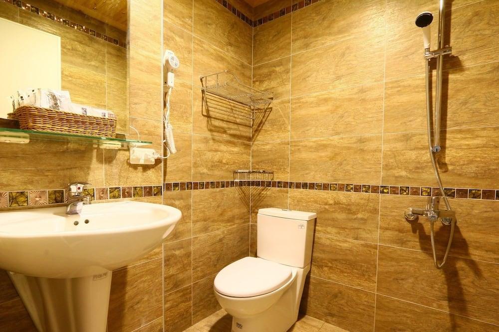 Chambre Double, 1 lit double - Salle de bain