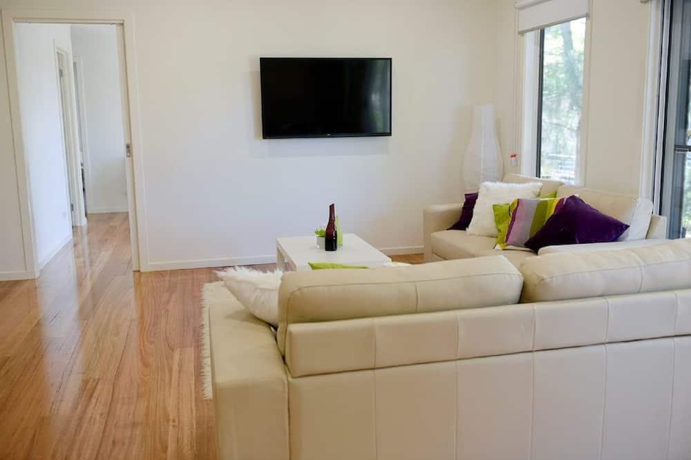 Casa, 4 habitaciones (2 Queen, 1 Bunk, 1 Tri-bunk) - Sala de estar
