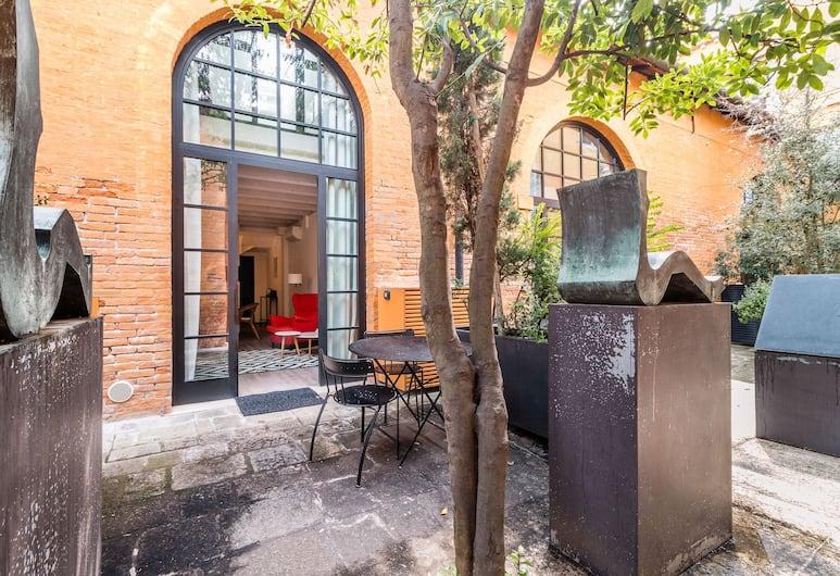 레지덴세 카신 데이 스피리티, 베네치아, 아파트, 침실 1개 (Veronese 09 - Casin dei Spiriti), 테라스/파티오