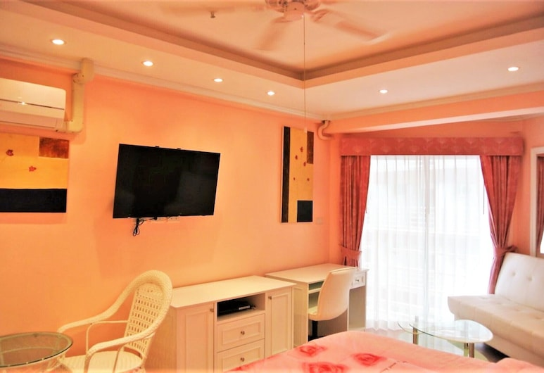 Lovely Jomtien Beach Apartment, Pattaya, Apartment, 1 King Bed, Room