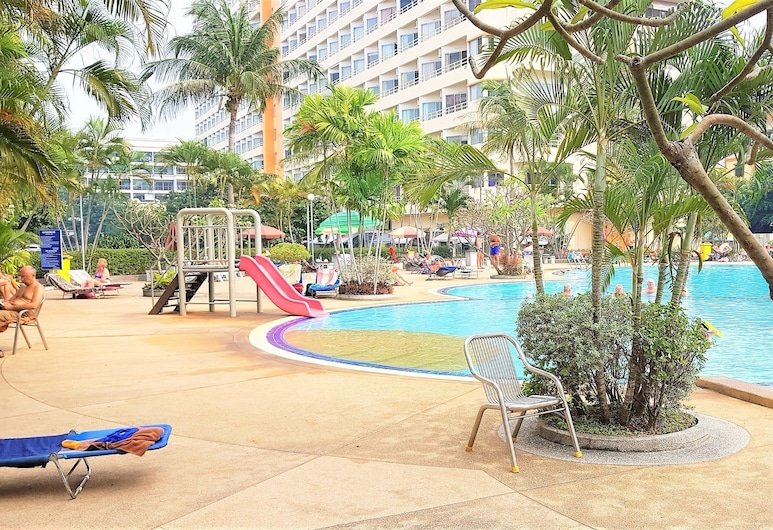 Lovely Studio at View Talay 1, Pattaya, Apartment, 1 King Bed, Garden