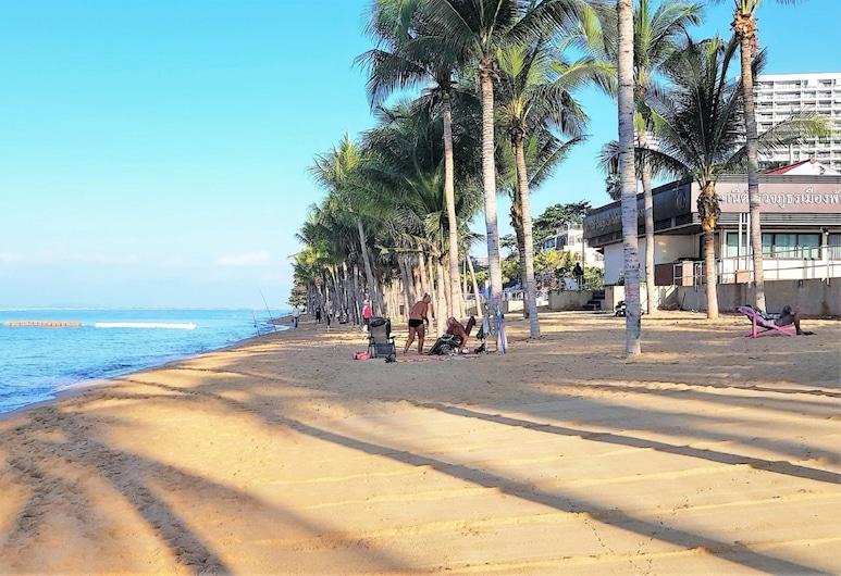 Stylish Studio Rentbuythailand, Pattaya, Căn hộ, 1 giường cỡ king, Bãi biển