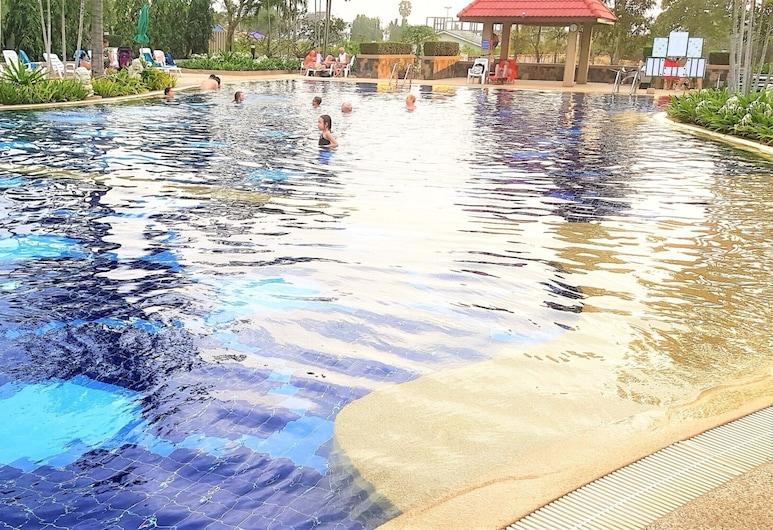Studio Condo at Jomtien Beach, Pattaya, Apartment, 1 King Bed, Pool