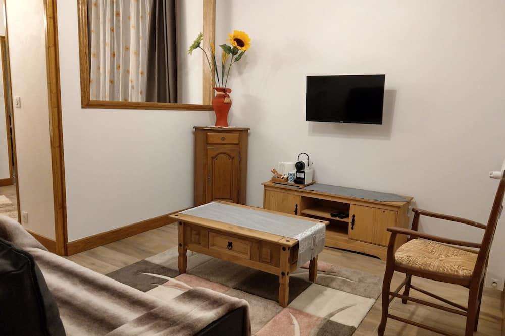 Luksusa numurs ar papildu ērtībām - Dzīvojamā istaba